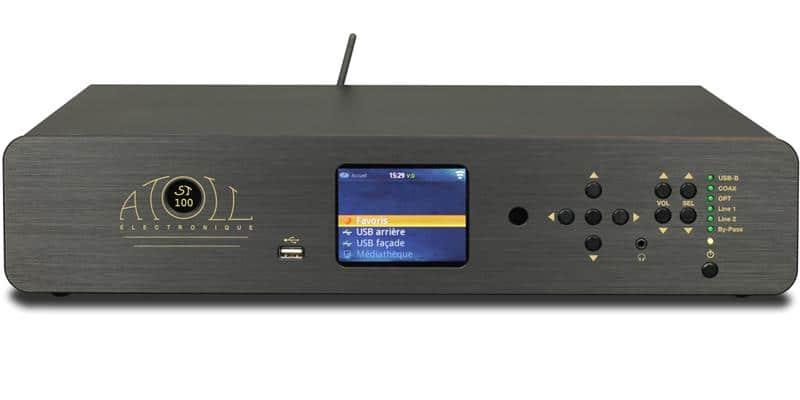 Atoll Electronique ST100SE Noir