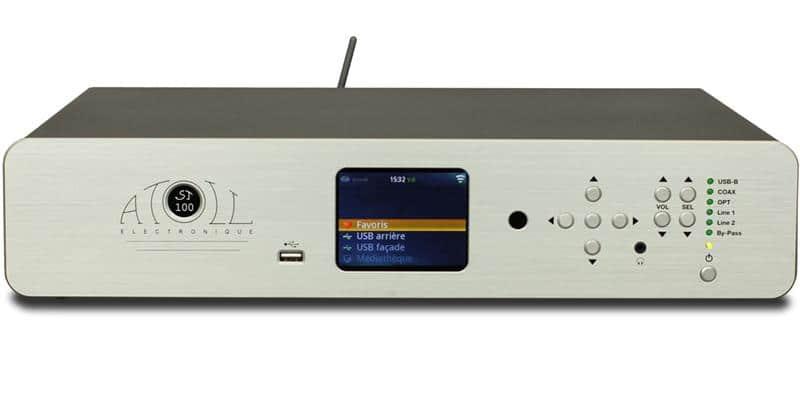 Atoll Electronique ST100SE Argent