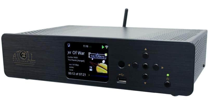Atoll Electronique MS100 Noir