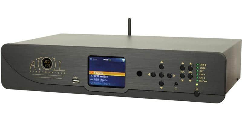 Atoll Electronique SDA200 Noir