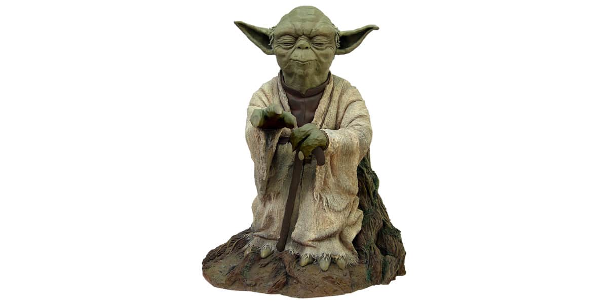 figurine maitre yoda figurine maitre yoda sur. Black Bedroom Furniture Sets. Home Design Ideas