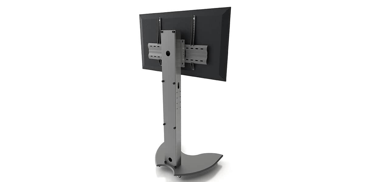axeos easyx simple ecran supports tv sur pied sur easylounge. Black Bedroom Furniture Sets. Home Design Ideas