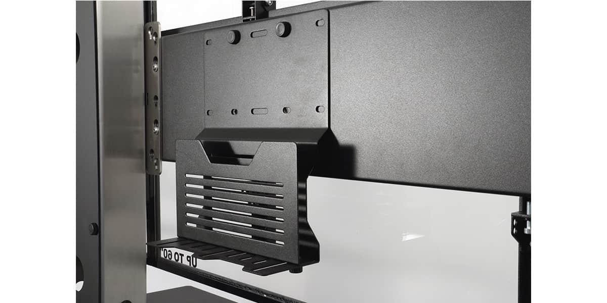 axeos ekinox double ecran supports tv sur pied sur. Black Bedroom Furniture Sets. Home Design Ideas