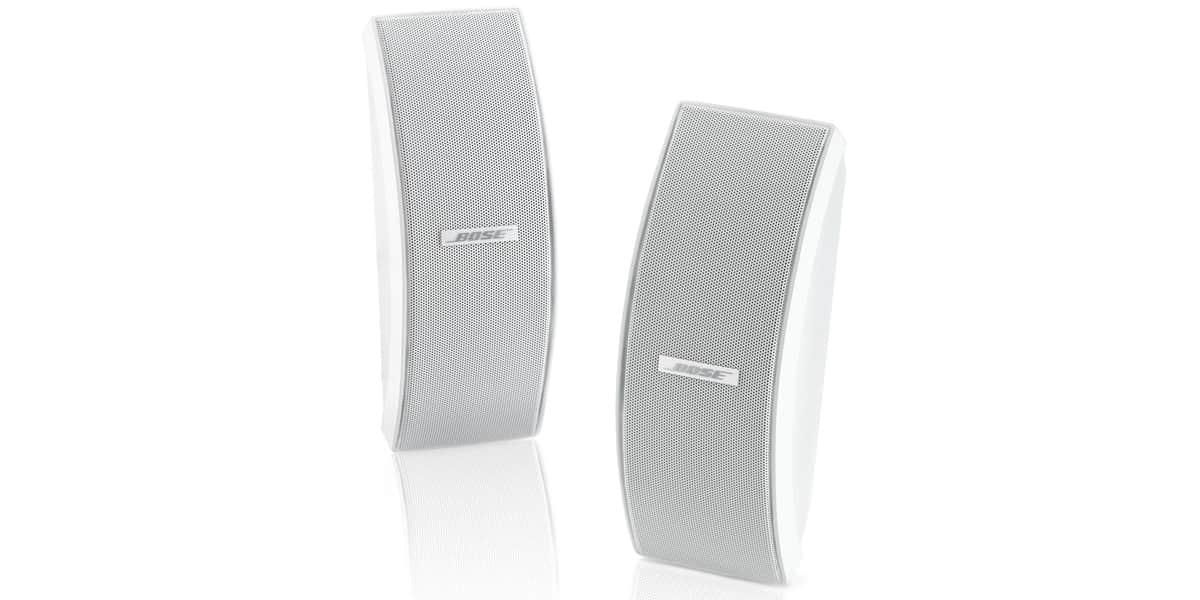 Bose 151 se blanches enceintes ext rieures sur easylounge for Exterieur speaker