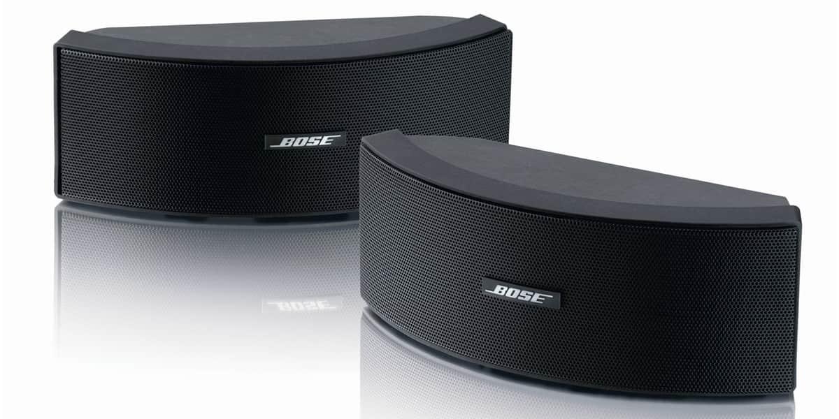 Bose 151 se noires enceintes ext rieures sur easylounge for Exterieur speaker