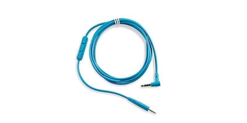Bose Câble QC 25 Apple Blanc/Bleu