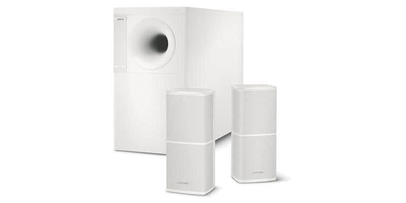 Bose Acoustimass 5 série V Blanc