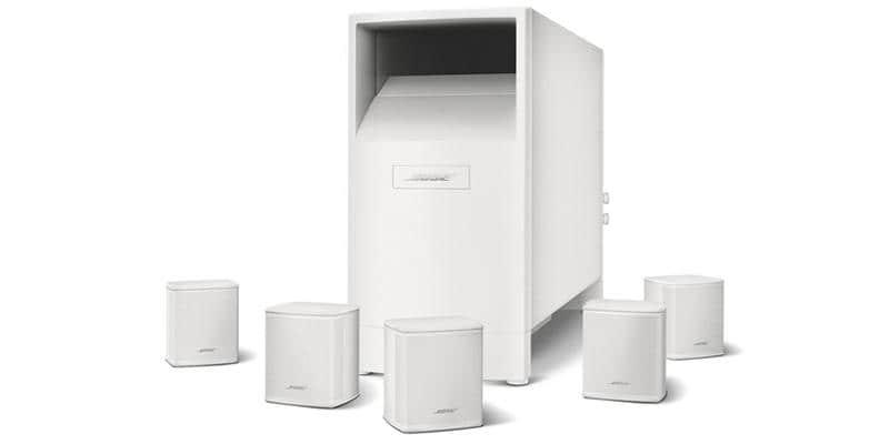 Bose Acoustimass 6 série V Blanc
