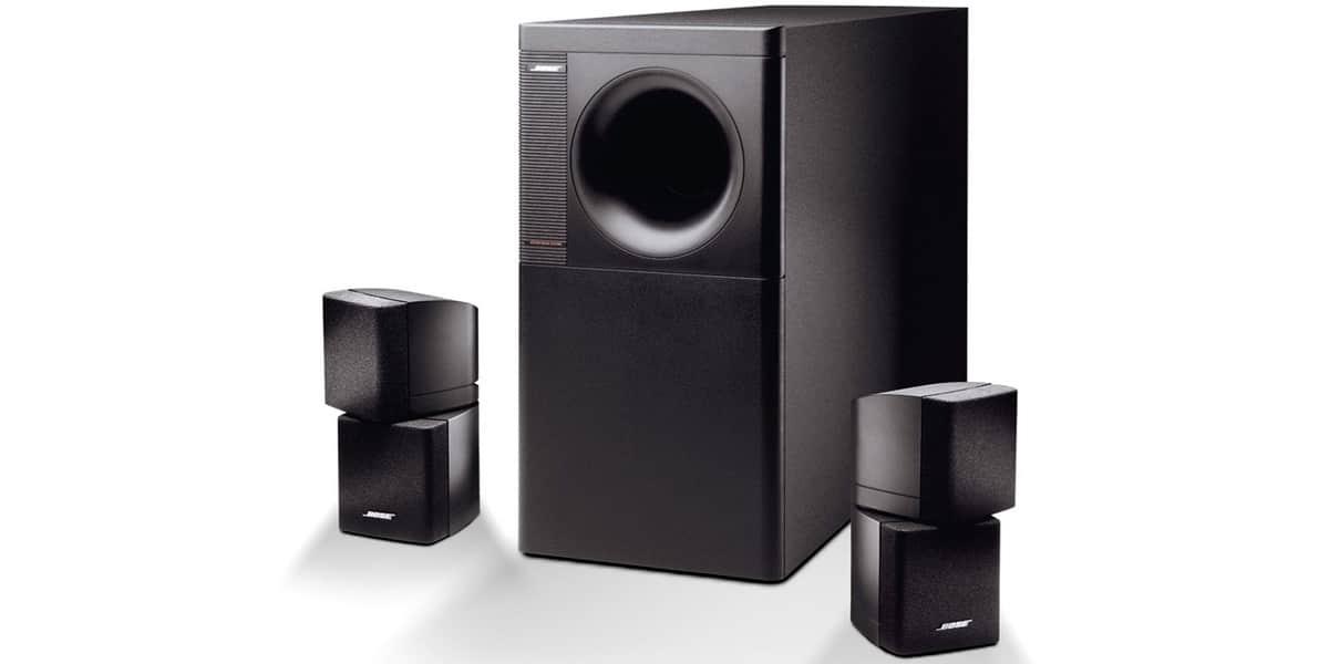 bose acoustimass 5 noir packs enceintes home cin ma sur. Black Bedroom Furniture Sets. Home Design Ideas