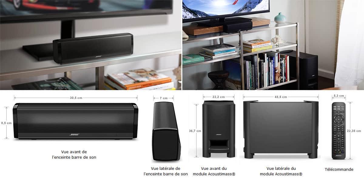 bose cinemate 15 noire barres de son sur easylounge. Black Bedroom Furniture Sets. Home Design Ideas