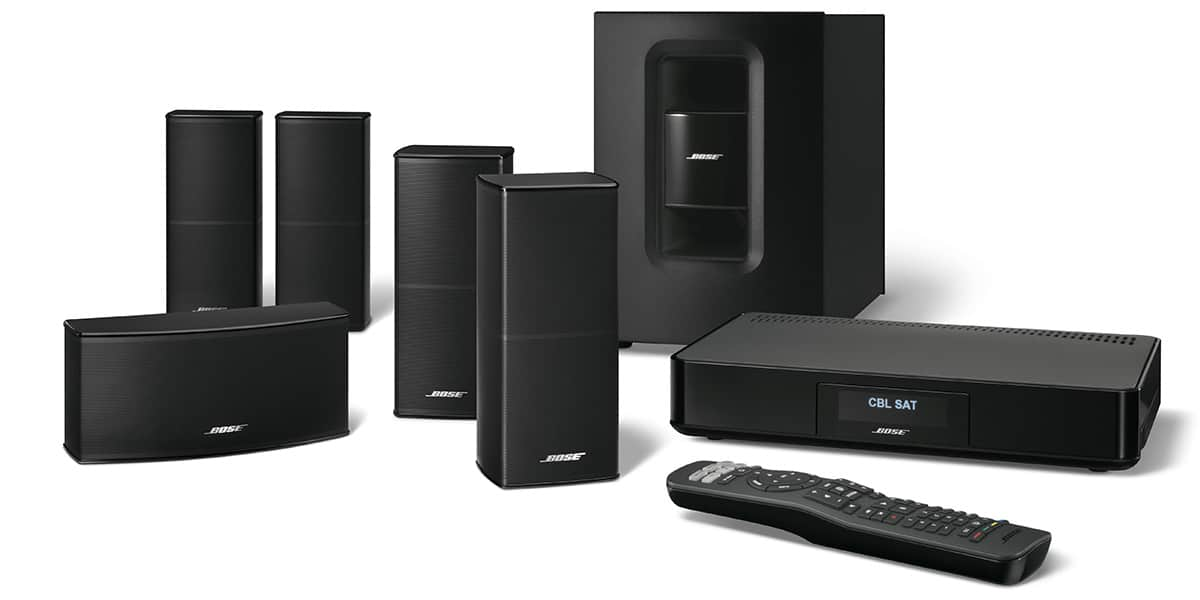 bose cinemate 520 noir packs enceintes home cin ma sur easylounge. Black Bedroom Furniture Sets. Home Design Ideas