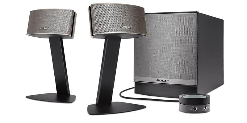 bose companion 50 enceintes multim dia sur easylounge. Black Bedroom Furniture Sets. Home Design Ideas