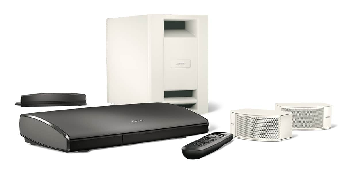 bose lifestyle soundtouch 235 blanc easylounge. Black Bedroom Furniture Sets. Home Design Ideas