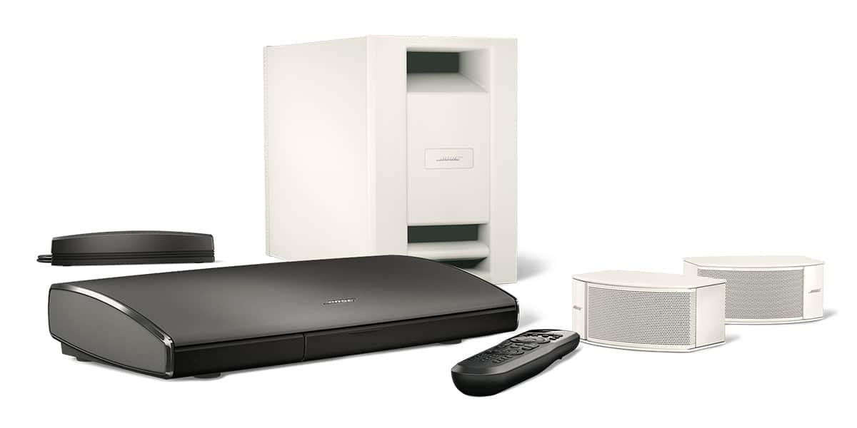 bose lifestyle soundtouch 235 blanc easylounge. Black Bedroom Furniture Sets. Home Design Ideas
