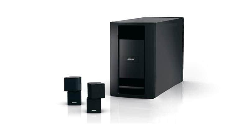 bose homewide noir multiroom audio sur easylounge. Black Bedroom Furniture Sets. Home Design Ideas