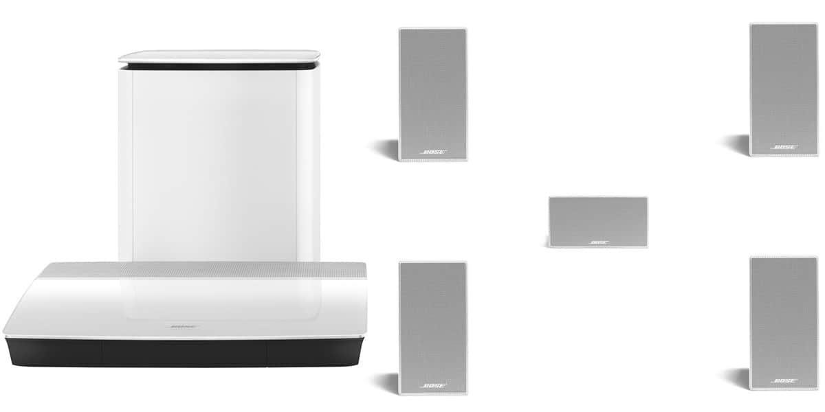 bose lifestyle 600 encastrable blanc easylounge. Black Bedroom Furniture Sets. Home Design Ideas
