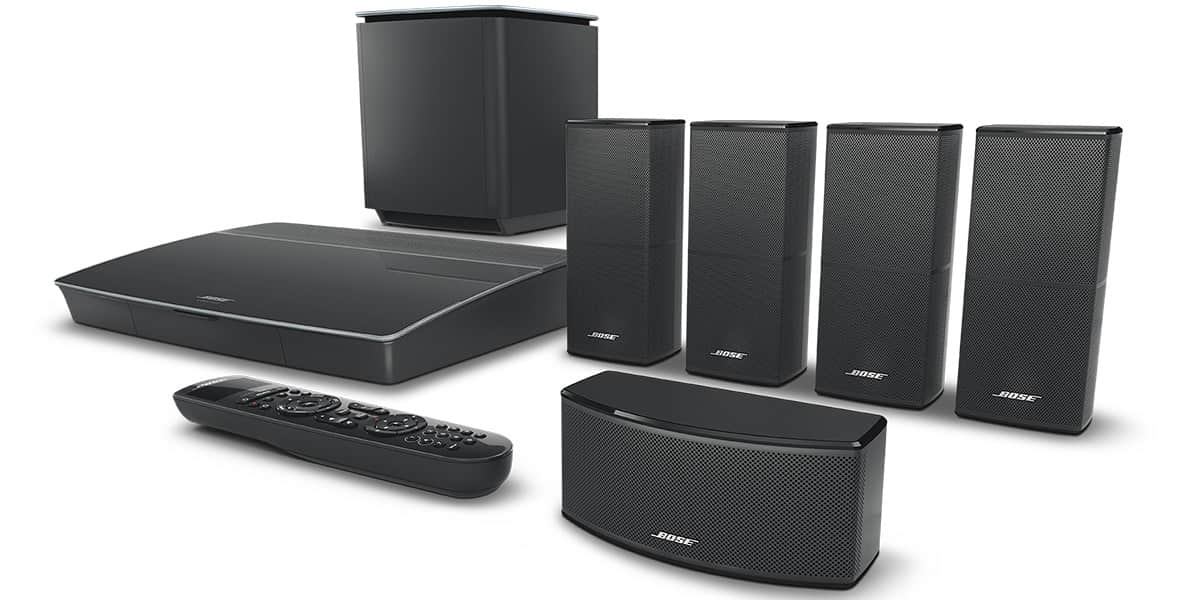 bose lifestyle 600 noir packs home cin ma complets sur easylounge. Black Bedroom Furniture Sets. Home Design Ideas