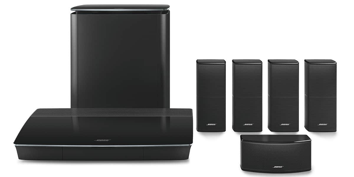 bose lifestyle 600 noir packs home cin ma complets sur. Black Bedroom Furniture Sets. Home Design Ideas