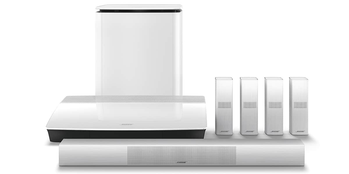 bose lifestyle 650 blanc packs home cin ma complets sur. Black Bedroom Furniture Sets. Home Design Ideas