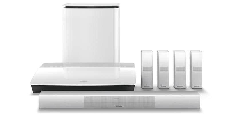 bose lifestyle 650 blanc packs home cin ma complets sur easylounge. Black Bedroom Furniture Sets. Home Design Ideas