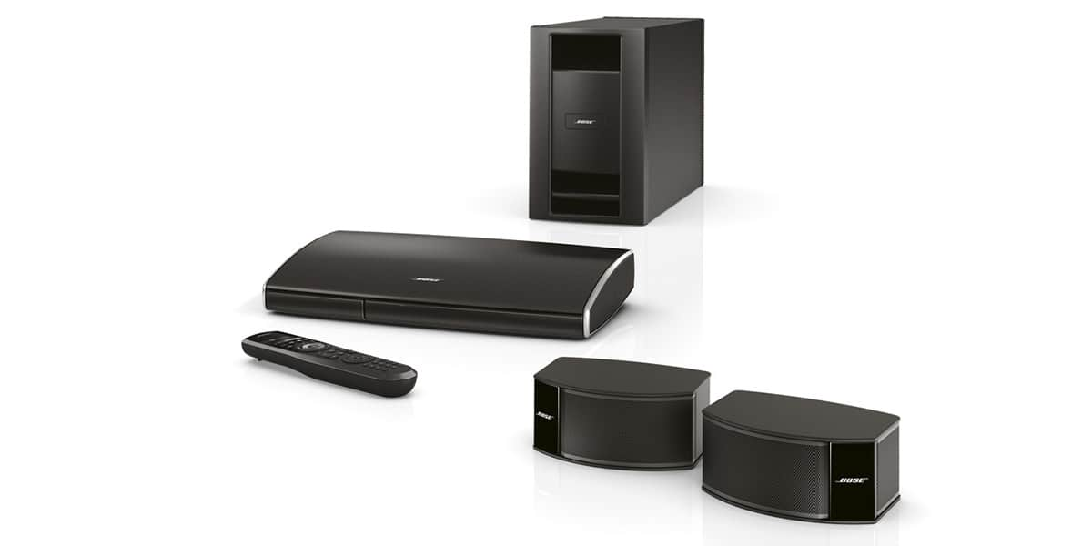 bose lifestyle 235 noir packs home cin ma complets sur easylounge. Black Bedroom Furniture Sets. Home Design Ideas