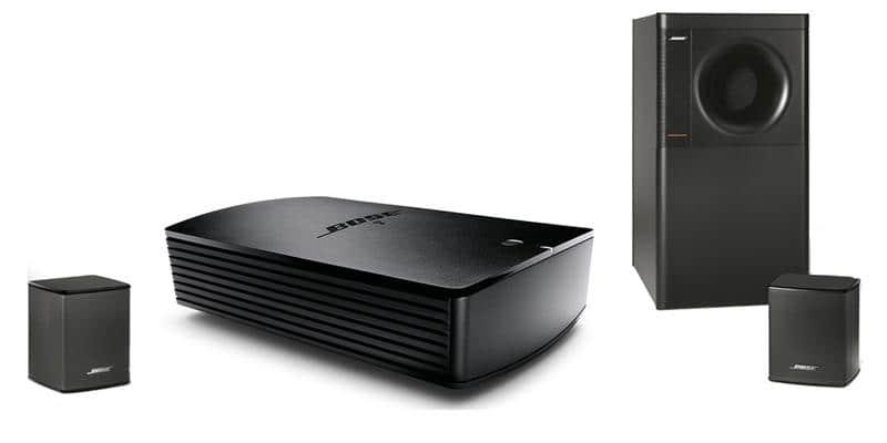Bose SA5 + Acoustimass 3