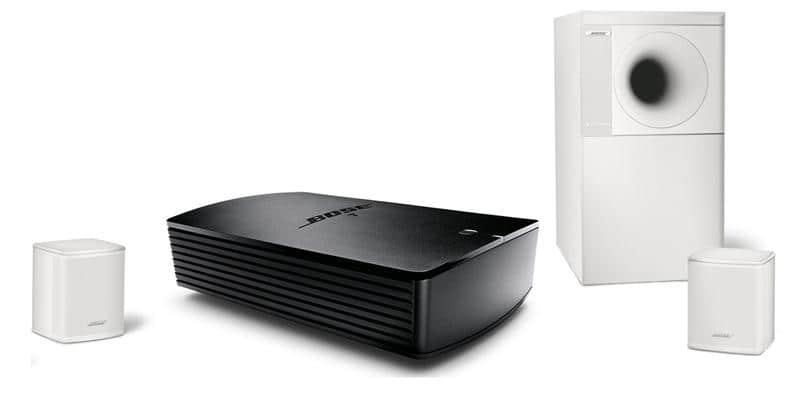 Bose SA5 + Acoustimass 3 Blanc