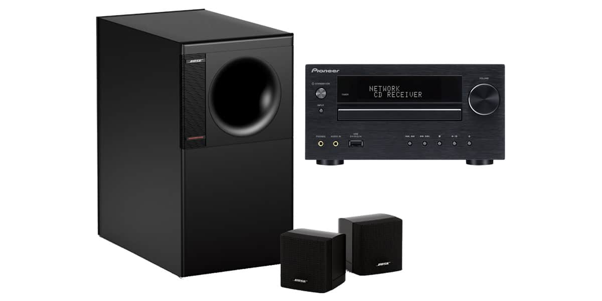 bose pack xhm70 et am3 mini chaines hifi sur easylounge. Black Bedroom Furniture Sets. Home Design Ideas