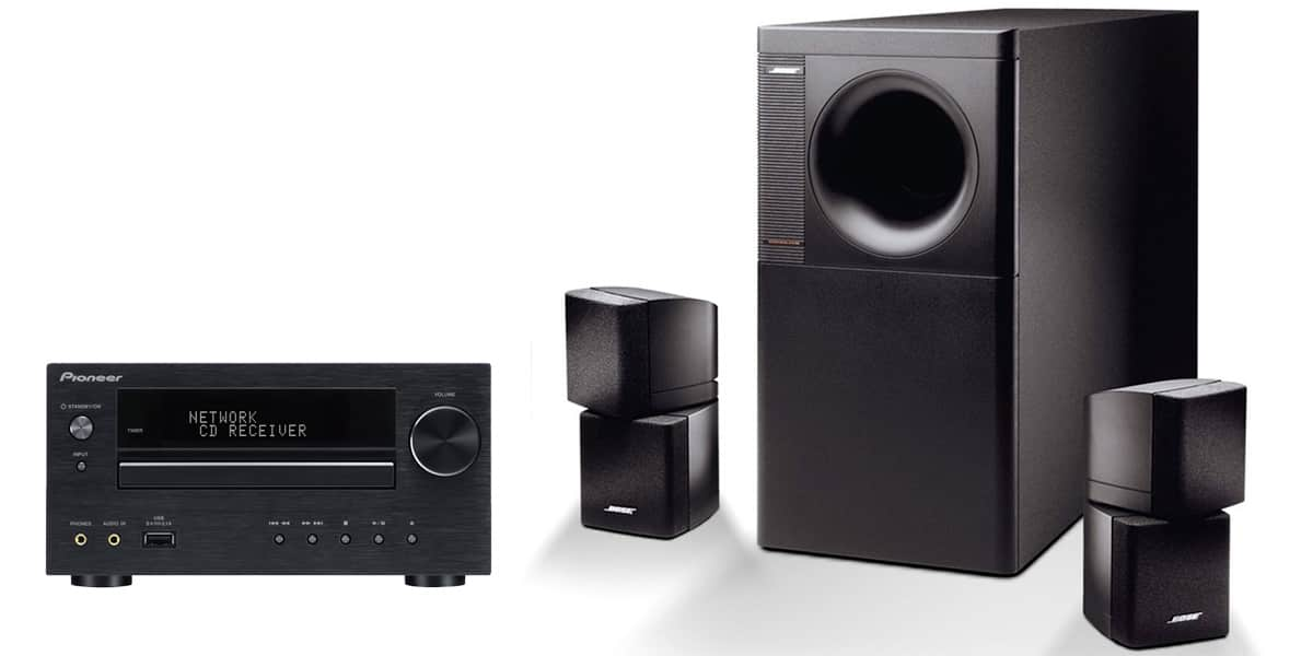 bose pack xhm70 et am5 mini chaines hifi sur easylounge. Black Bedroom Furniture Sets. Home Design Ideas