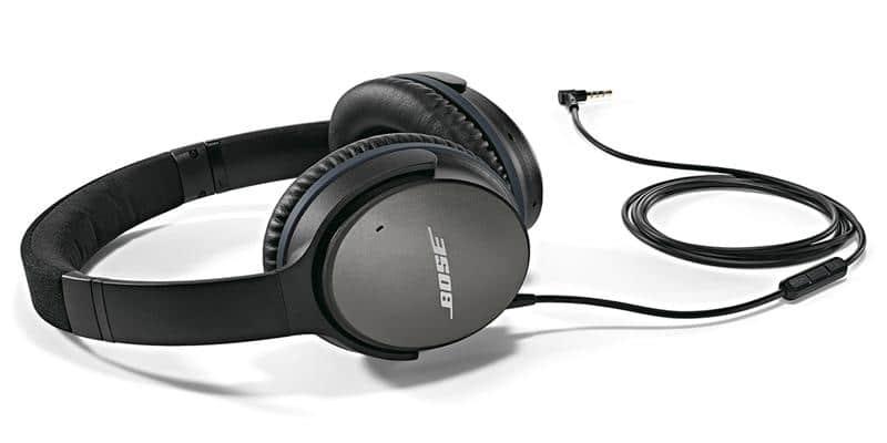 Bose QC 25 pour Appareils Apple Noir