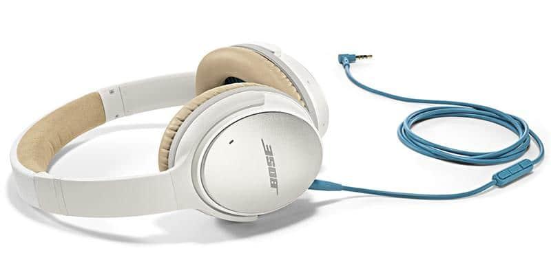 Bose QC 25 pour Appareils Apple Blanc