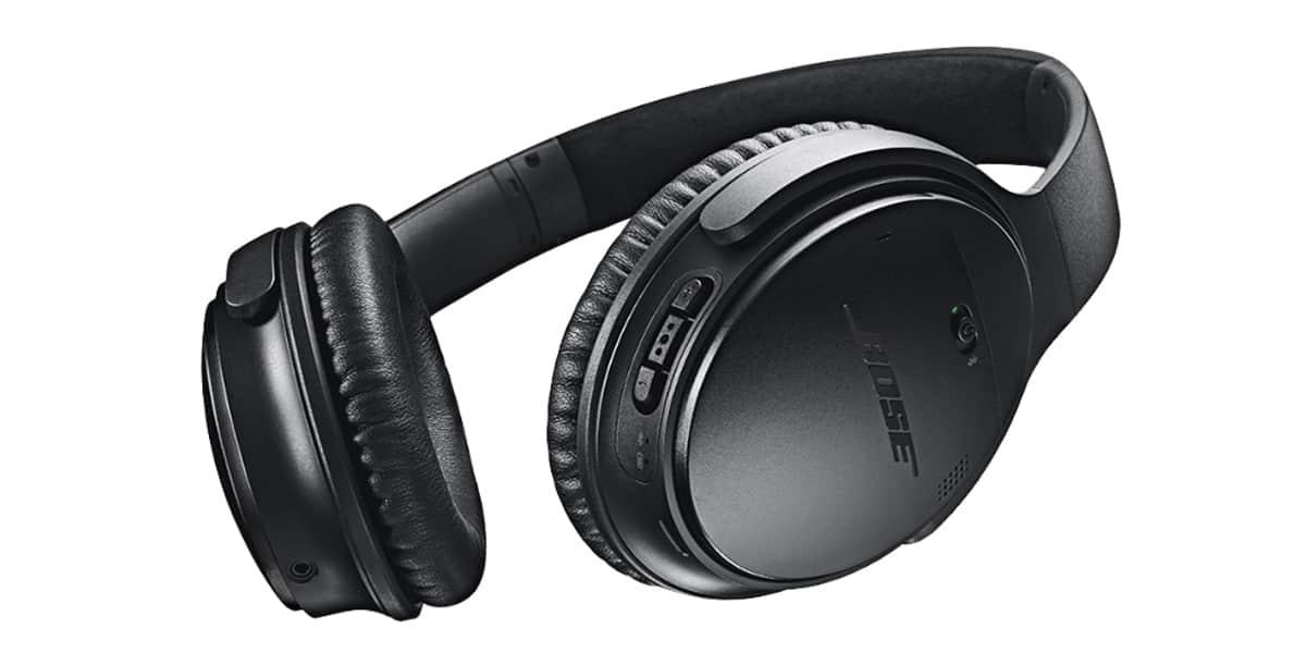 bose quietcomfort 35 noir casques audio sans fil sur. Black Bedroom Furniture Sets. Home Design Ideas