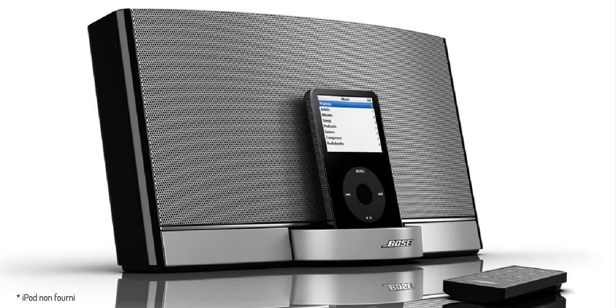 bose sounddock portable enceintes ipod iphone sur easylounge. Black Bedroom Furniture Sets. Home Design Ideas
