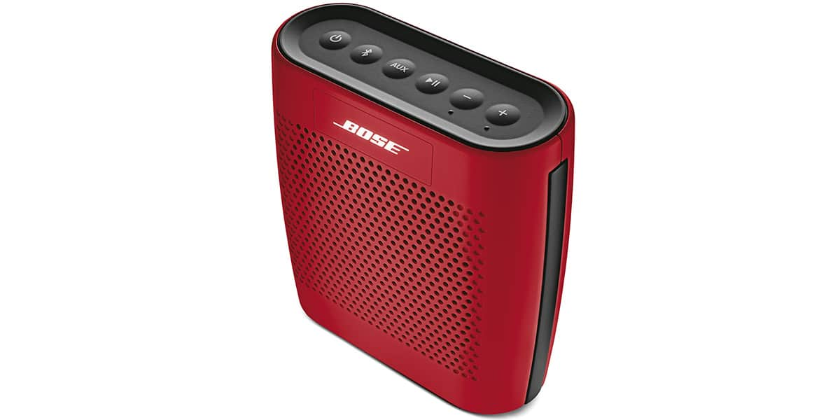 bose soundlink colour rouge enceintes bluetooth sur. Black Bedroom Furniture Sets. Home Design Ideas