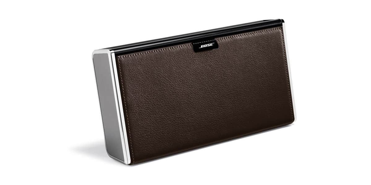 bose soundlink ii cuir 2 enceintes bluetooth sur easylounge. Black Bedroom Furniture Sets. Home Design Ideas