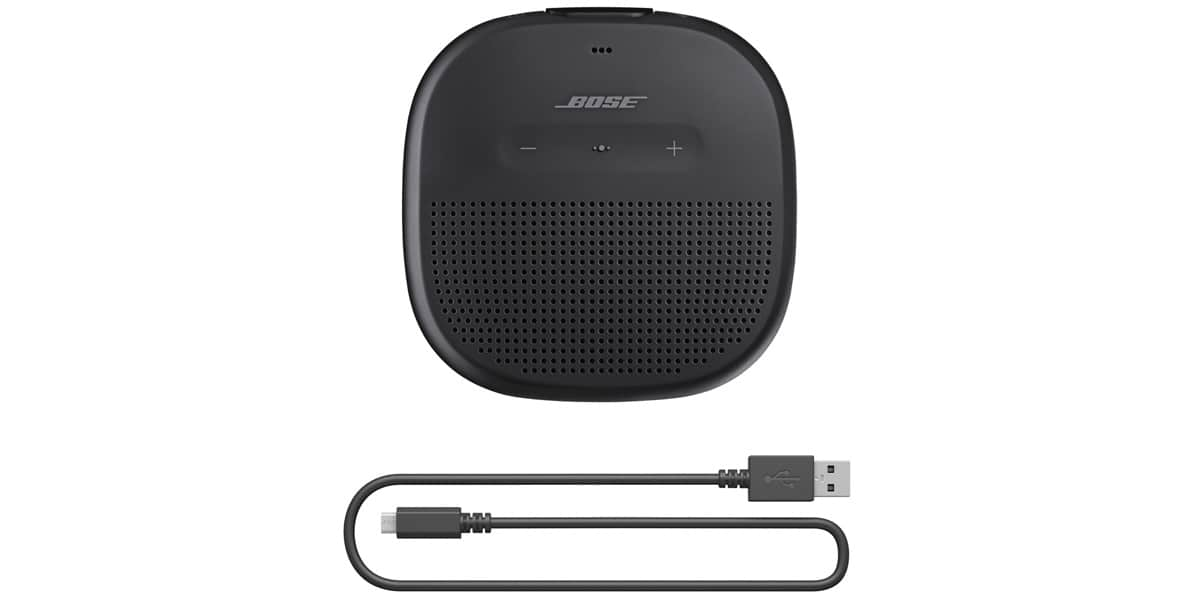bose soundlink micro noir enceintes bluetooth sur easylounge. Black Bedroom Furniture Sets. Home Design Ideas