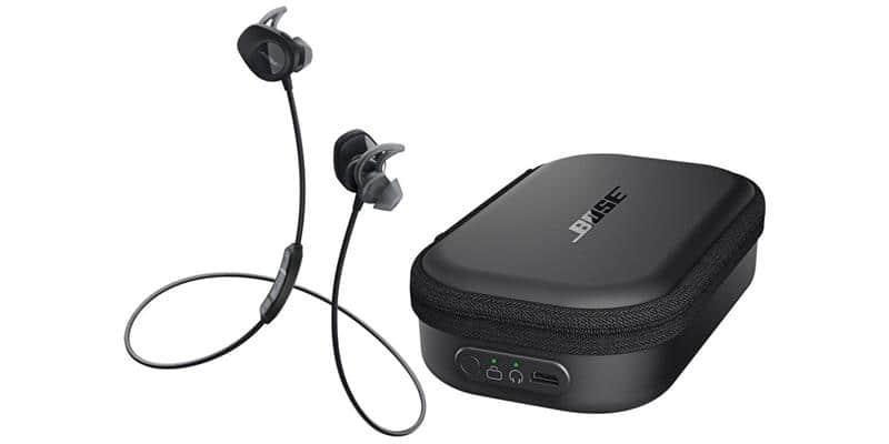 Bose SoundSport Sans Fil Noir + Etui de chargement