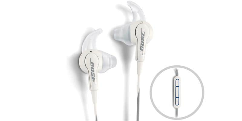Bose SoundTrue Apple Blanc
