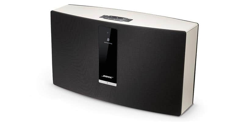 bose soundtouch 30 blanc enceintes wifi et airplay sur easylounge. Black Bedroom Furniture Sets. Home Design Ideas