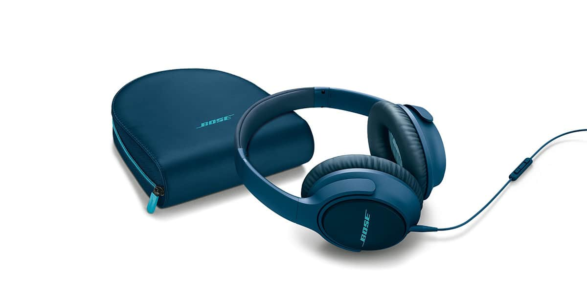 bose soundtrue ae apple bleu casques audio nomades sur easylounge. Black Bedroom Furniture Sets. Home Design Ideas