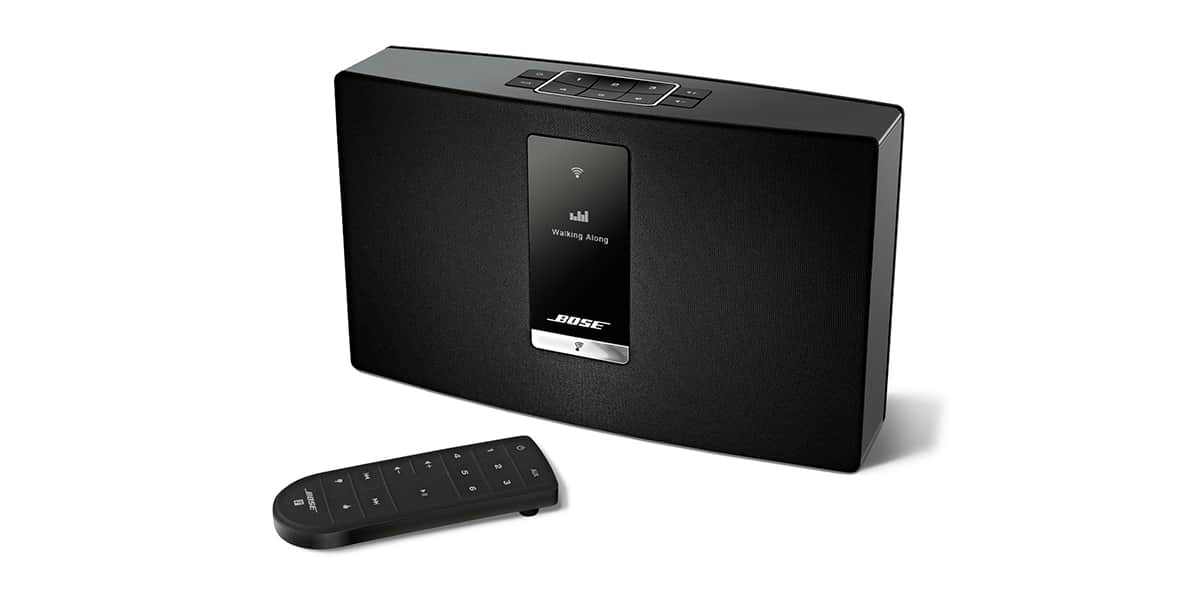 bose st portable noire enceintes wifi et airplay sur easylounge. Black Bedroom Furniture Sets. Home Design Ideas