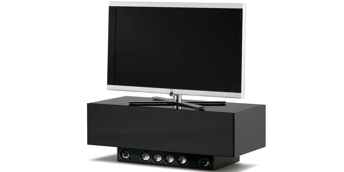 spectral brick 1201 son noir meubles tv spectral sur easylounge. Black Bedroom Furniture Sets. Home Design Ideas