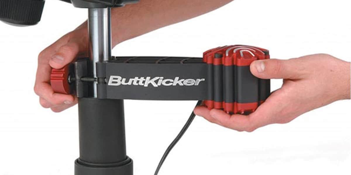 Buttkicker Gamer 2 Noir | Vibreurs De Canapé Sur Easylounge