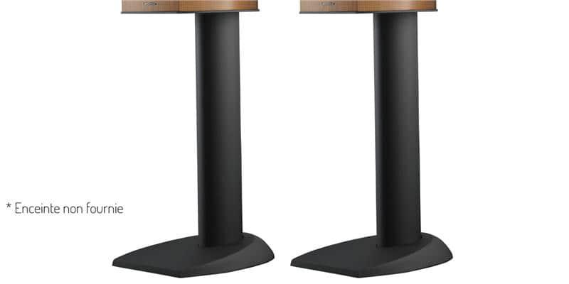 bw fs 805 noir pieds pour enceintes sur easylounge. Black Bedroom Furniture Sets. Home Design Ideas