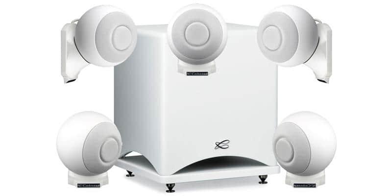 Cabasse Pack 5.1 iO2 Socle Blanc