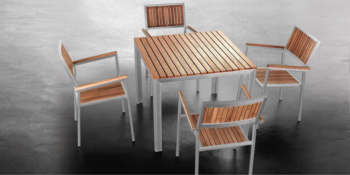 Coti design salon californie salons de jardin sur easylounge for Table exterieur casa