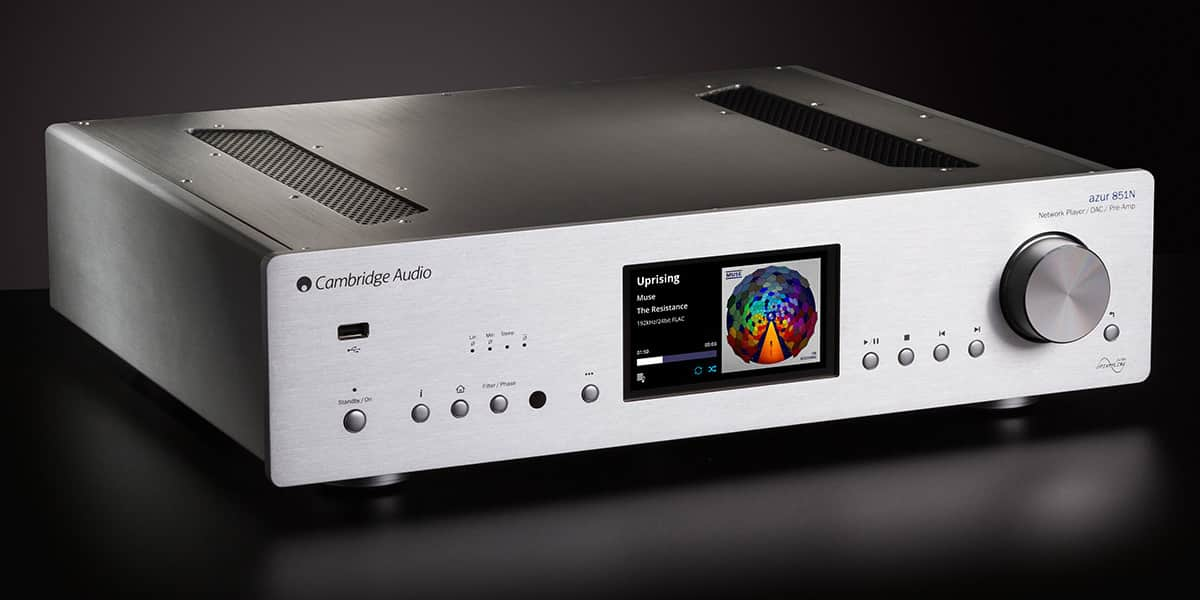 Cambridge Audio Azur 851N Silver