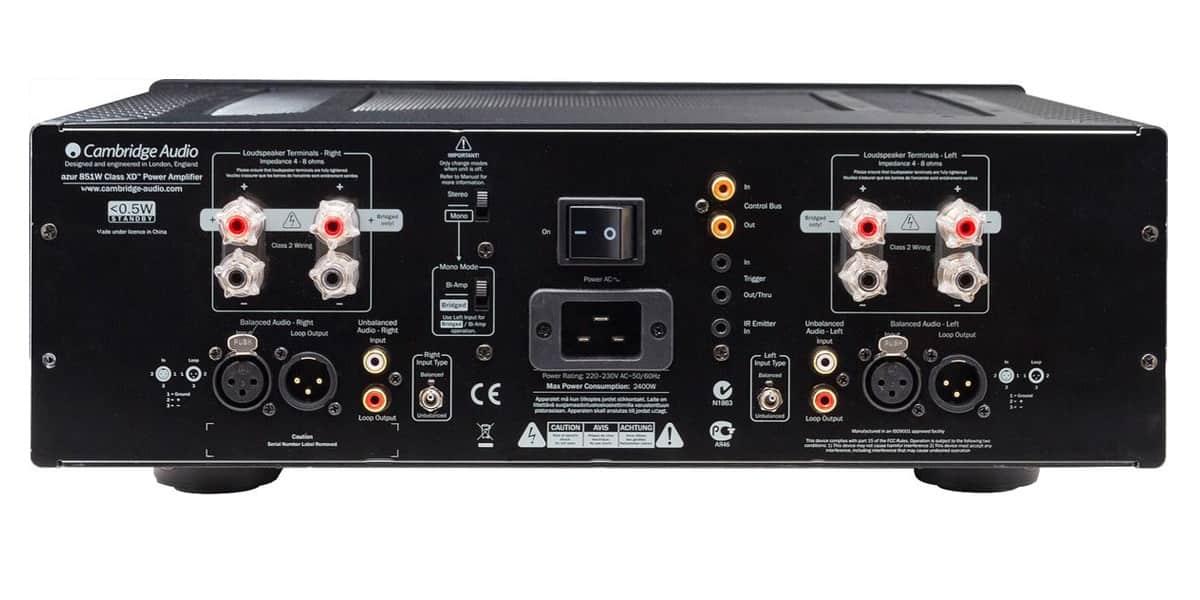 cambridge audio azur 851w noir amplis de puissance sur easylounge. Black Bedroom Furniture Sets. Home Design Ideas