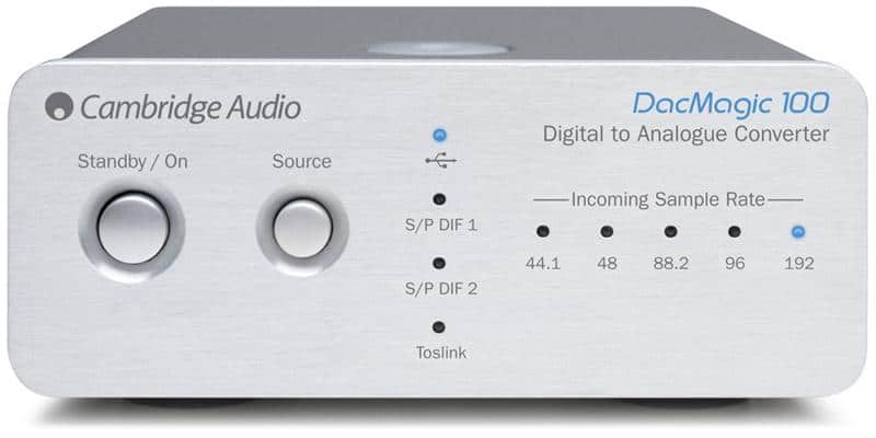 Cambridge Audio Dac Magic 100 Argent