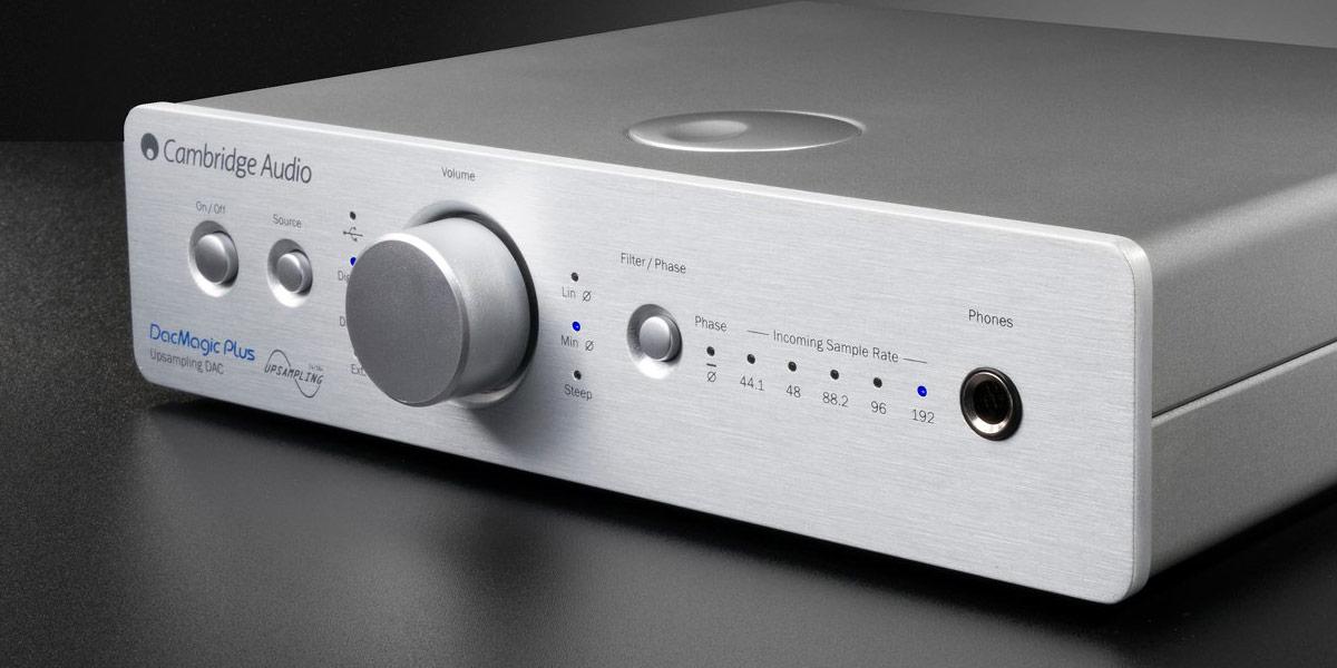 Cambridge Audio DacMagic Plus Argent